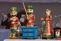 Statuette in india market pushkar Royalty Free Stock Image