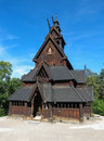Stave church in Oslo