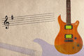 Stave And Mahogany Wood Electr...