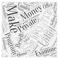 Stay at Home Moms Make Money Selling Software Programs word cloud concept word cloud concept Royalty Free Stock Photo