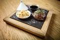 Steak fillet of lamb Royalty Free Stock Photo