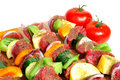 Steak Kabob Royalty Free Stock Photography