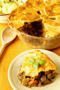 Steak and kidney pie Stock Photography