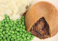 Steak & Kidney Pudding Royalty Free Stock Photo