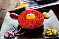 Steak tartare. Stock Photos