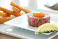 Steak Tartare Royalty Free Stock Image