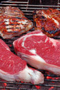 Steaks and chops Royalty Free Stock Photography