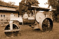 Steam Earthmoving Machinery Royalty Free Stock Photo