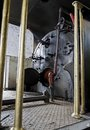 Steam Engine Boiler Stock Photography