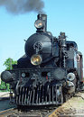 Steam engine front Royalty Free Stock Photo