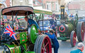 Steam Engine Rally . Royalty Free Stock Photo