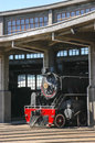 Steam engines old in the railway industry in temuco chile Royalty Free Stock Images