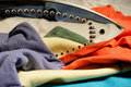 Steam iron Royalty Free Stock Images
