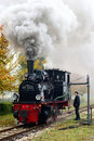 Steam Locomotive Stock Image