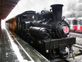 Steam locomotive alishan forest railway shay no taiwan Stock Photography