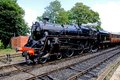 Steam locomotive, Arley. Royalty Free Stock Photo