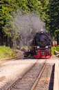 Steam locomotive a beauty old Royalty Free Stock Photo