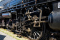Steam locomotive close up Royalty Free Stock Photos