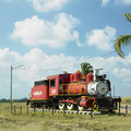 Steam locomotive, Cuba Royalty Free Stock Photos