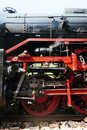 Steam locomotive detail on Royalty Free Stock Photo