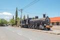 Steam locomotive in Fauresmith