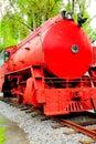 Steam locomotive III Royalty Free Stock Photo