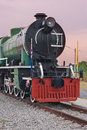 Steam locomotive old at thailand Royalty Free Stock Photo
