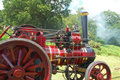 Steam traction engine Royalty Free Stock Photo
