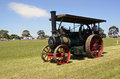 Steam Tractor. Stock Photo