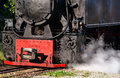 Steam train detail Royalty Free Stock Photo