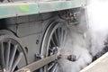 Steam Train Wheel Royalty Free Stock Photo