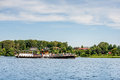 Steamboat silkeborg denmark july hjejlen the oldest functional in the world Royalty Free Stock Photos