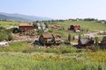 Steamboat springs town in colorado united states Stock Image