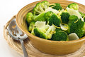 Steamed broccoli Royalty Free Stock Photos