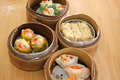 Steamed dimsum Royalty Free Stock Photography