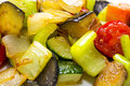 Steamed vegetables nutrition organic palatable Royalty Free Stock Photo