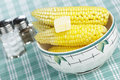 Steaming corn Royalty Free Stock Photo