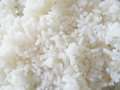 Steaming rice close up of Royalty Free Stock Images