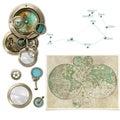 Astrológia / kompas prístroje výber