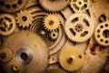 Steampunk background