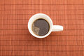 Steamy cup of coffee Royalty Free Stock Photo