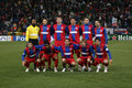 Steaua Bucharest squad Stock Photography