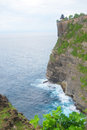 Steef cliff at uluwatu bali indonesia Stock Image