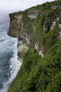 Steef cliff at uluwatu bali south indonesia Stock Image
