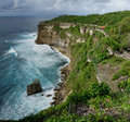 Steef cliff at uluwatu bali south indonesia Stock Photos