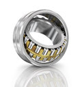 Steel ball bearing.