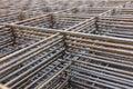 Steel bar framework Royalty Free Stock Photo