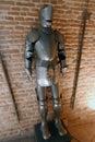 Steel body armour Royalty Free Stock Photo