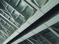 Steel bridge 2 Stock Photos