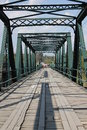 Steel Bridge. Royalty Free Stock Photo